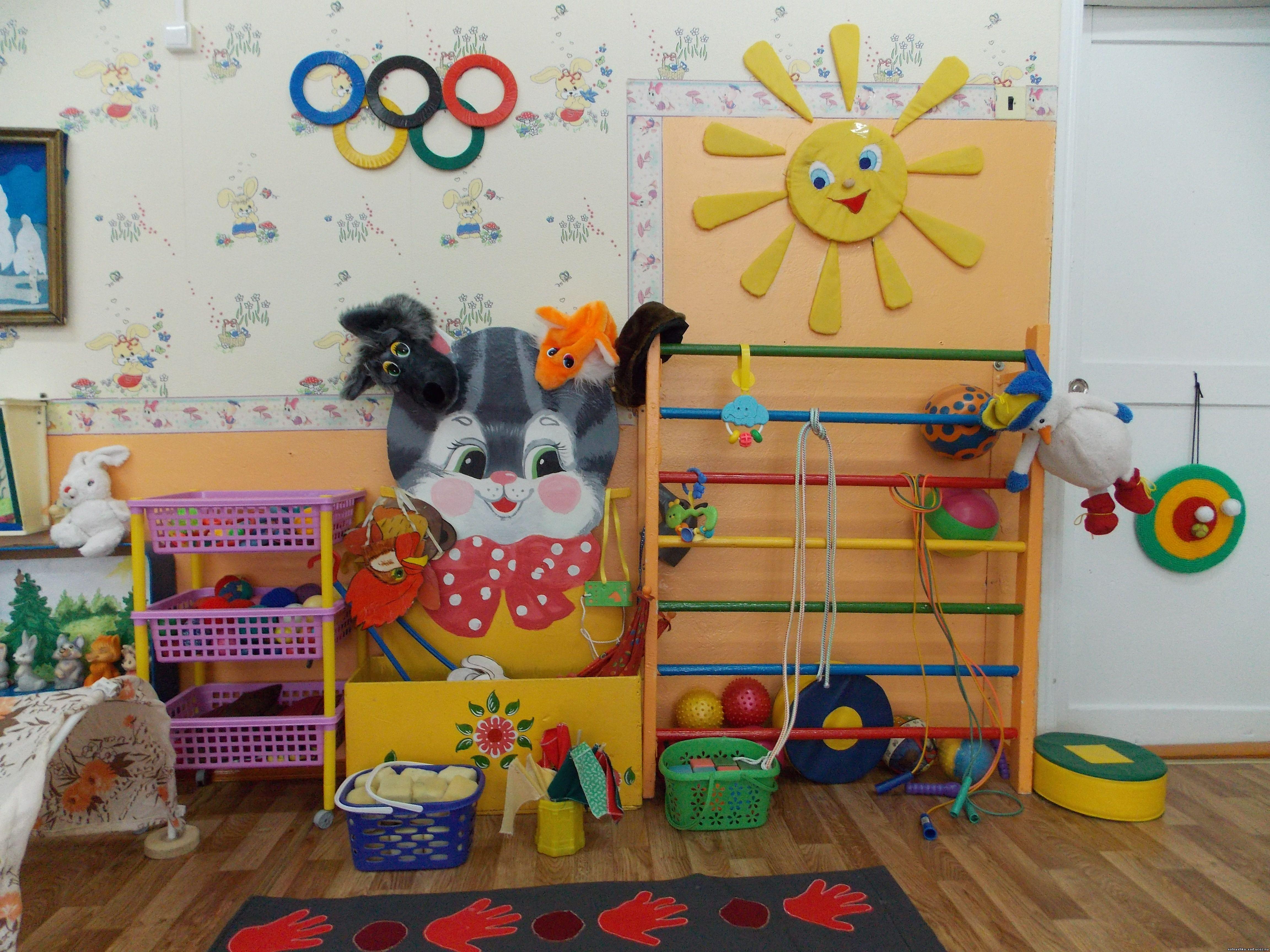 Уголок своими руками для фото в детском саду